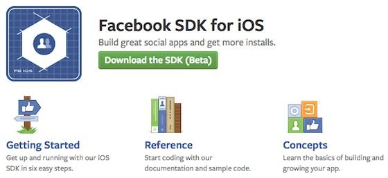 Facebook Launches iOS SDK 3.0 Beta Along With New iOS Dev Center