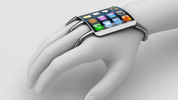 [Concept] Curved-Glass iPhone Wrist Computer
