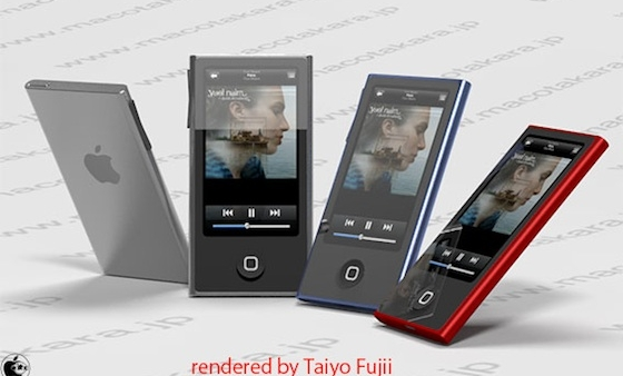 [Rumor] Apple To Launch New Redesigned iPod Nano With A Long Body And Home Button