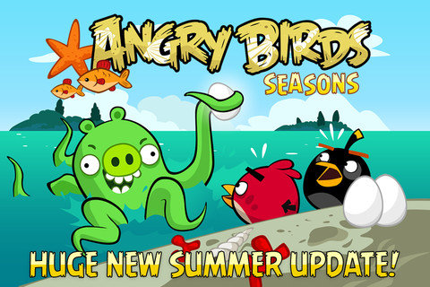 Angry Birds Seasons Is The Free App Of The Week!