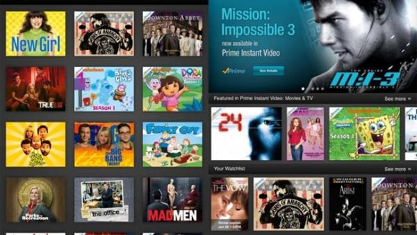 Amazon Releases Instant Video Service iPad App