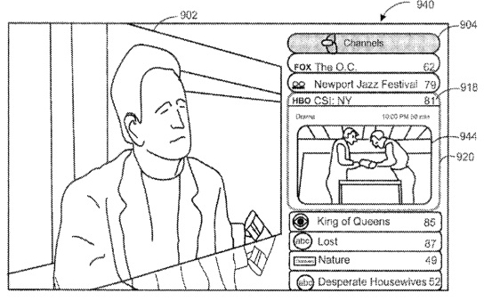New Apple Patent Shows TV-Like Navigation And DVR Capabilities
