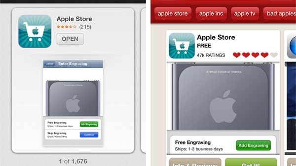 Apple Redesigns iOS App Store In iOS 6