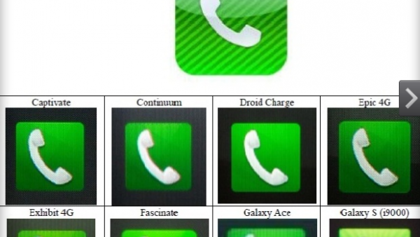Samsung Did A Horrible Job At Stealing Trademarked Apple Icons