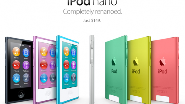 Check Out The Brand New iPod Nano