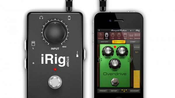 [Review] iRig Stomp Blurs The Line Between iOS Apps And Guitar Pedals