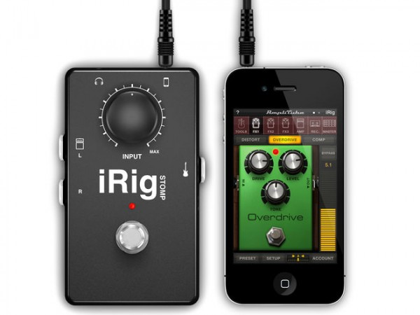 review irig stomp blurs the line between ios apps and guitar pedals macmixing. Black Bedroom Furniture Sets. Home Design Ideas
