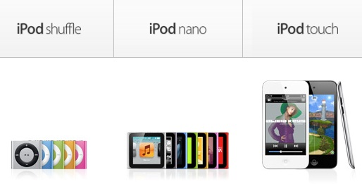 [Rumor] Updated iPod Lines To Be Launched At The iPhone Event