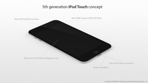 [Concept] The Next-Generation iPod Touch
