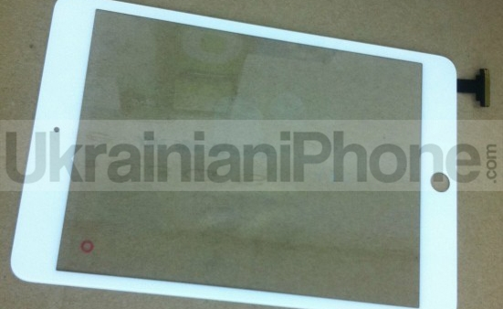 [Rumor] Leaked iPad mini Parts Show Housing Assembly And Display