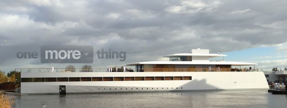 Have You Seen Steve Jobs' New Yacht?