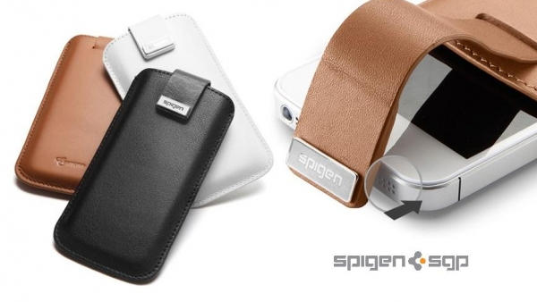 [Review] Spigen SGP Crumena Series iPhone 5 Leather Pouch – Protective And Classy