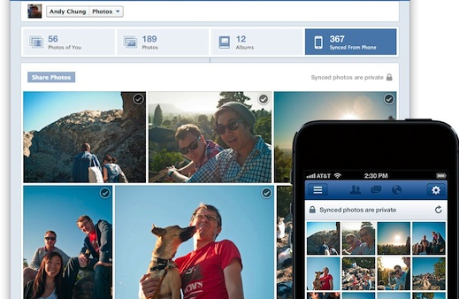Facebook's App May Start Automatically Uploading Your Pictures
