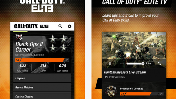 [App Update] Call Of Duty Elite For iOS Now Has Black Ops II Support