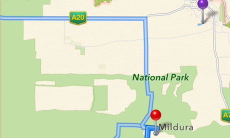 Apple Fixes Map Error In Australia