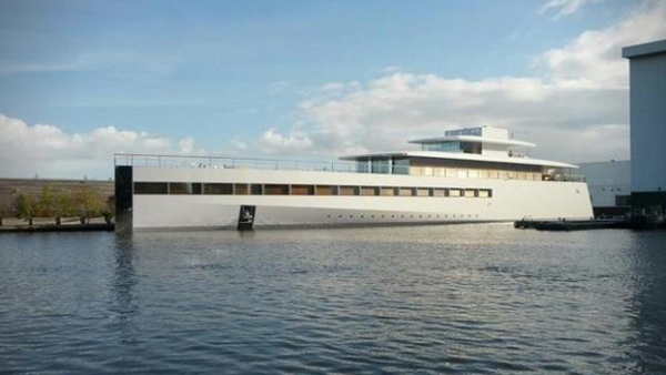 Steve Jobs' iYacht Released From Impound