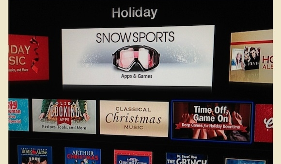 App Listings Spotted On Apple TV: Silly Error Or New Feature?