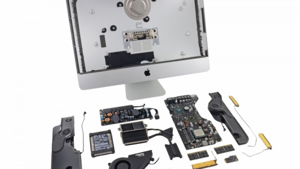 New 21.5-inch iMac Gets A Poor 'Repairability' Score After iFixit's Teardown