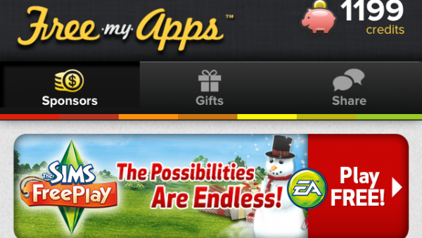 'Free My Apps' Gives You Free Apps And Gift Cards!