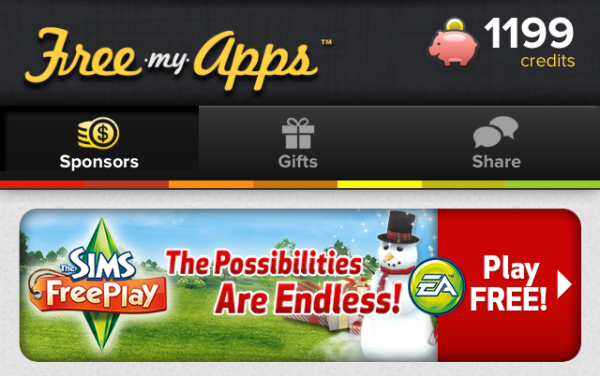 Free My Apps' Gives You Free Apps And Gift Cards! | macmixing