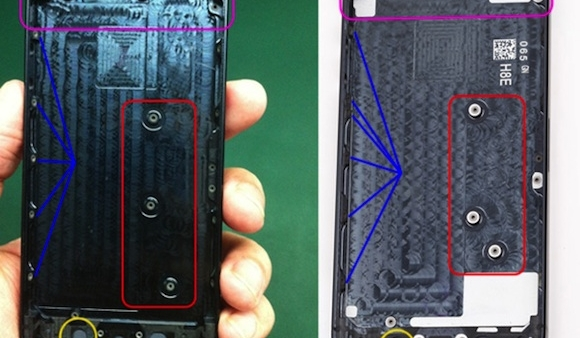 [Rumor] Leaked iPhone 5S Rear Shell Surfaces