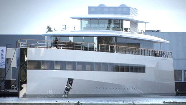Steve Jobs' Family Yacht Impounded Over Pricey Unpaid Design Bill