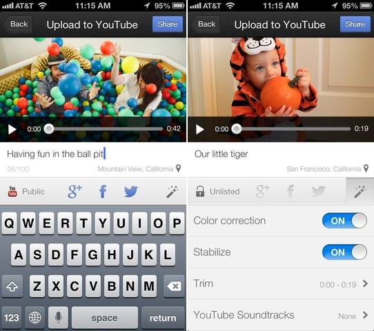 Google Releases New 'YouTube Capture' App
