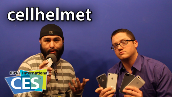 [CES 2013] Cellhelmet – Accidental Damage Coverage For iPhone 5 And iPhone 4S/4