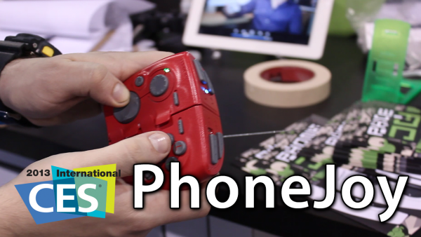 [CES 2013] PhoneJoy – Universal-Fit iOS And Mobile Gaming Controller