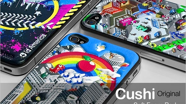 [CES 2013] id America Cushi Plus For iPhone 5