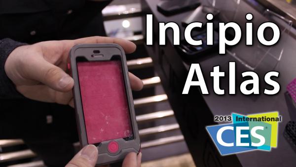 [CES 2013] Incipio Atlas – iPhone 5 Waterproof Case With A Warranty