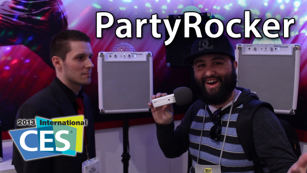[CES 2013] ION Audio PartyRocker – Bluetooth Party-In-A-Box