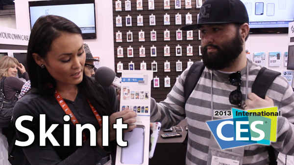 [CES 2013] SkinIt – Customizable iPhone Cases