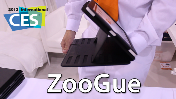 [CES 2013] ZooGue Case Prodigy For iPad And iPad mini