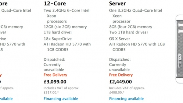 Apple Mac Pro Unavailable From European Apple Online Stores