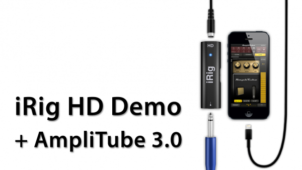 [Review] iRig HD Demo With AmpliTube 3.0 – Overview Of AmpliTube Studio