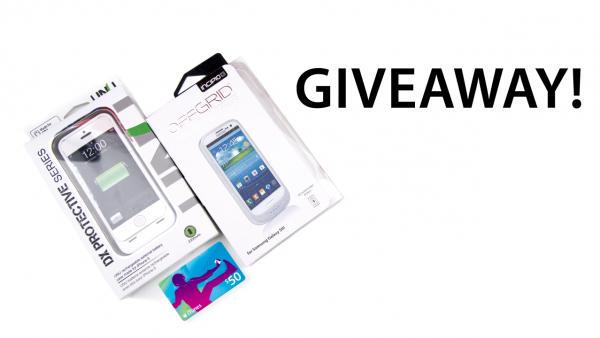 Giveaway: iPhone 5 Battery Case Or Samsung GS3 Battery Case + Bonus Surprise