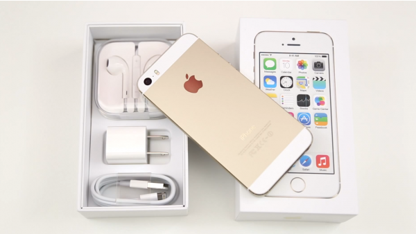 Gold iPhone 5s Unboxing And Overview