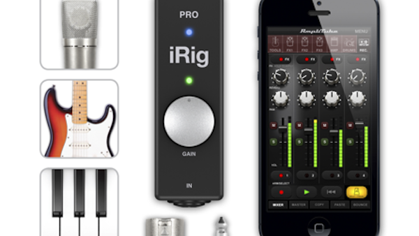 IK Multimedia Unveils iRig PRO, The 'All In One' Audio/MIDI Interface For iPhone, iPad And iPod touch