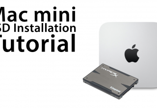 The Ultimate Mac mini: How To Install A Solid State Drive (SSD) – Install Guide