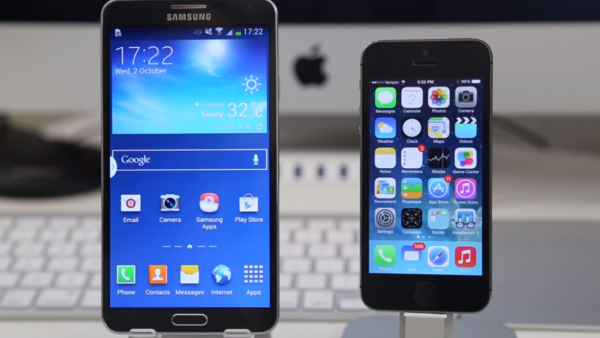 Galaxy Note 3 Versus iPhone 5s: Geekbench Test