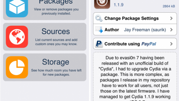 Cydia Updated For iOS 7 [Download Now]