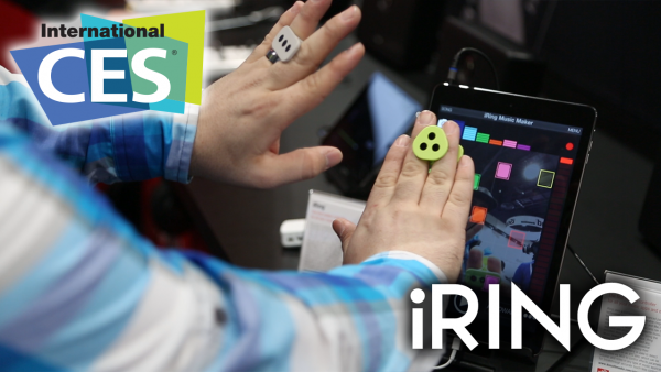 CES 2014: IK Multimedia iRing – Motion Controlled Music