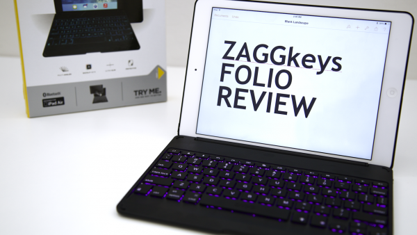 ZAGGkeys Folio For iPad Air Review