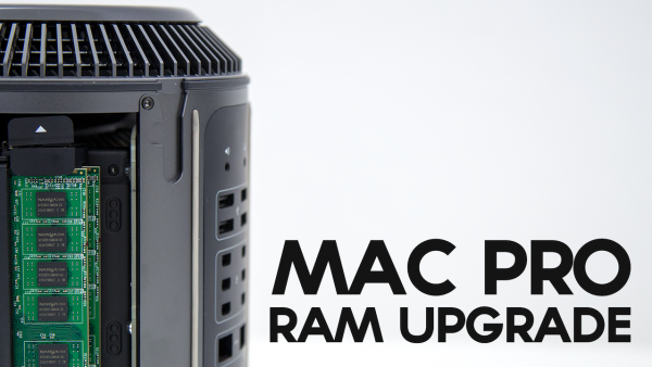 Apple Mac Pro (Late 2013): RAM Upgrade Tutorial