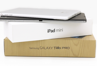 Samsung Galaxy Tab Pro 8.4 vs Apple iPad mini with Retina Display