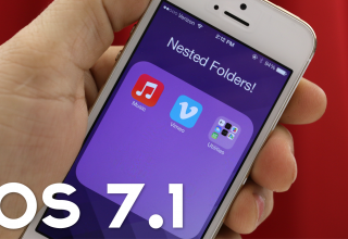 How To Create Nested Folders In iOS 7.1 [Video]