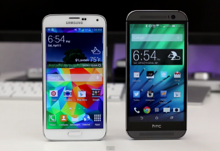 Samsung Galaxy S5 vs HTC One (M8): Complete Comparison
