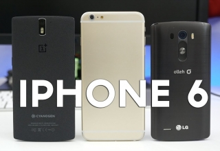 5.5-Inch iPhone 6 vs 4.7-inch, OnePlus One, And LG G3 (Mockups)